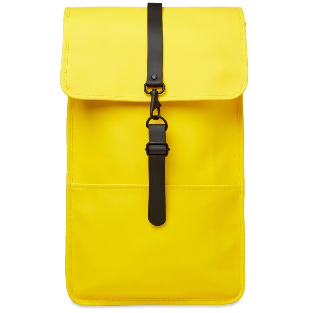 レインズ Rains メンズ バックパック・リュック バッグ【Backpack】Yellow