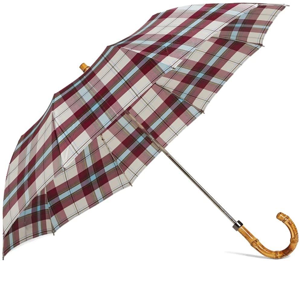 ロンドンアンダーカバー London Undercover メンズ 傘 【Whangee Telescopic Umbrella】Black