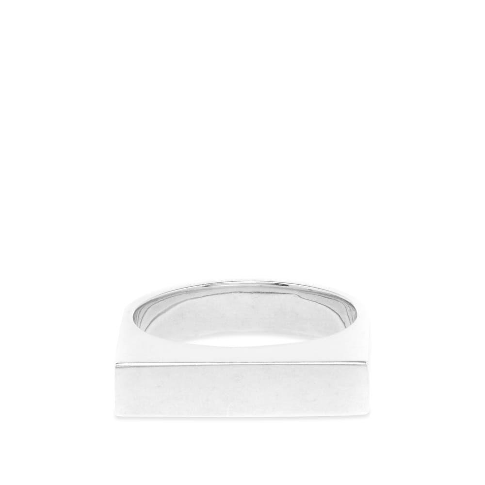 イヴ サンローラン Saint Laurent メンズ 指輪・リング ジュエリー・アクセサリー【Square Edge Ring】Silver