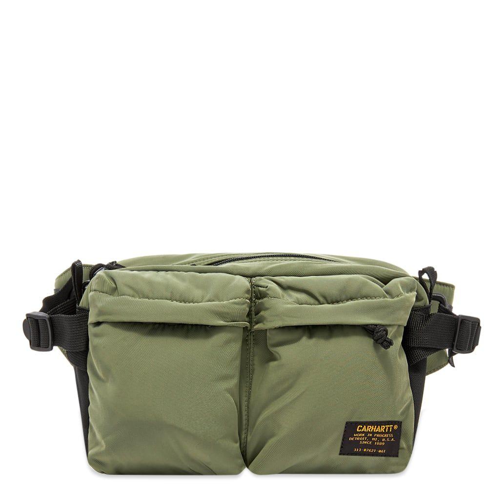 カーハート Carhartt WIP メンズ ボディバッグ・ウエストポーチ バッグ【Military Hip Bag】Dollar Green/Black