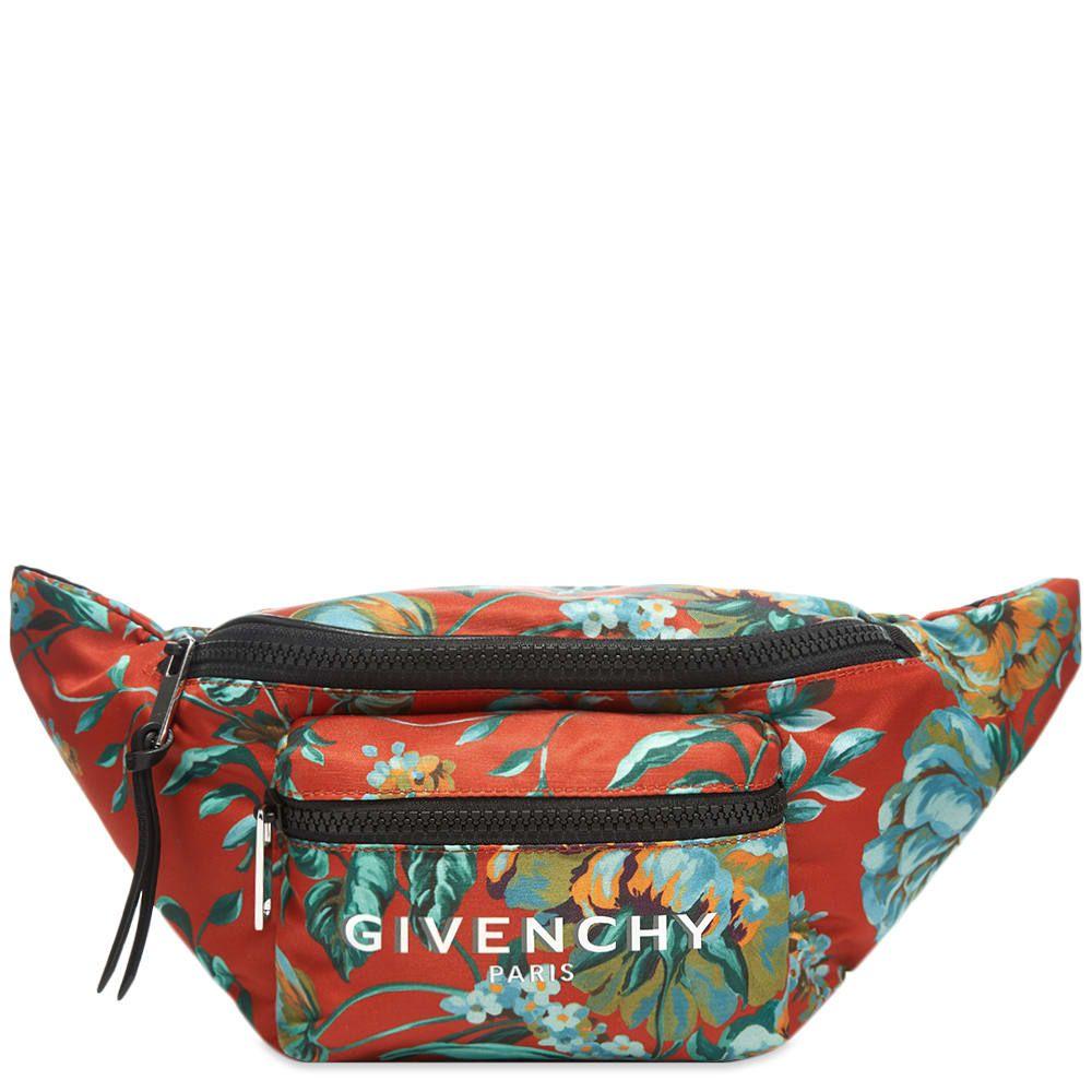 ジバンシー Givenchy メンズ ボディバッグ・ウエストポーチ バッグ【Floral Print Bum Bag】Multi
