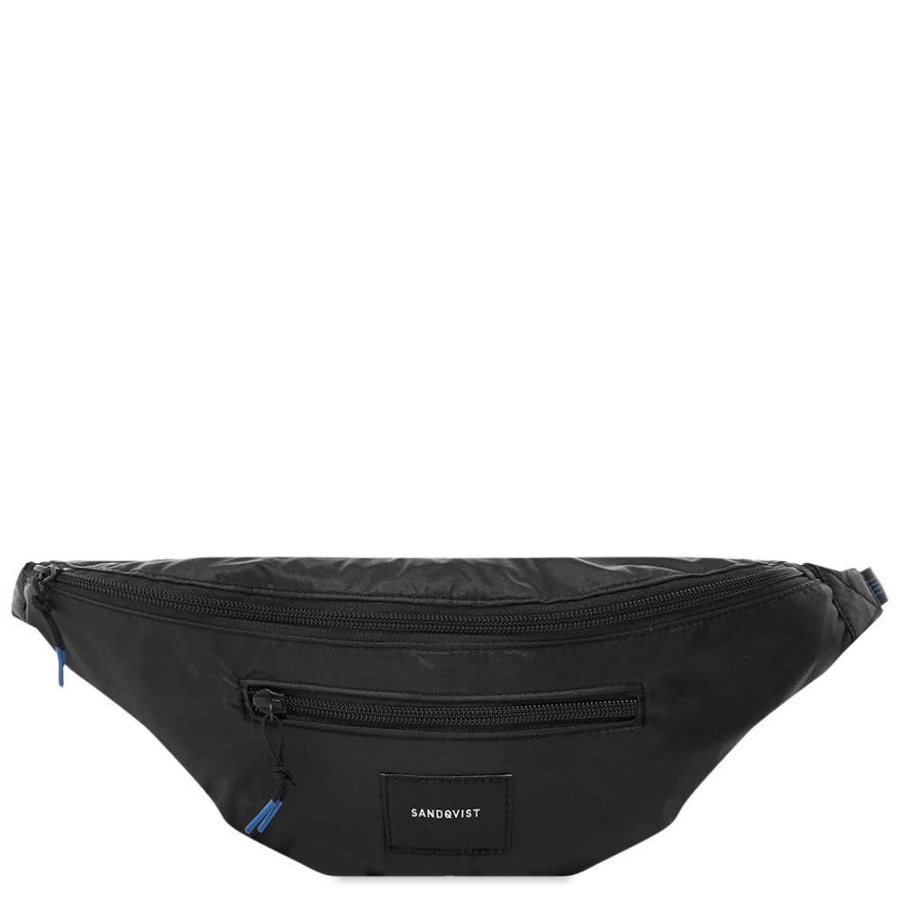 サンドクヴィスト Sandqvist メンズ ボディバッグ・ウエストポーチ バッグ【Aste Lightweight Waist Bag】Black