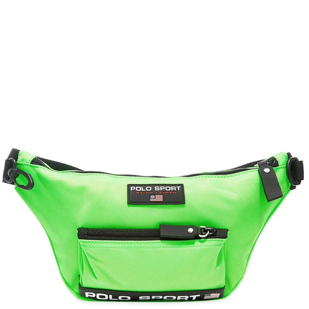 ポロスポーツ Polo Sport メンズ ボディバッグ・ウエストポーチ バッグ【Polo Ralph Lauren Waist Bag】Neon Lime