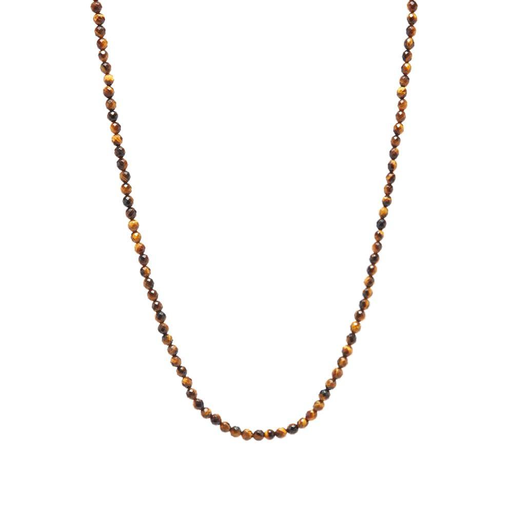 マスターマインド MASTERMIND WORLD メンズ ネックレス ジュエリー・アクセサリー【Beaded Necklace】Tiger Eye