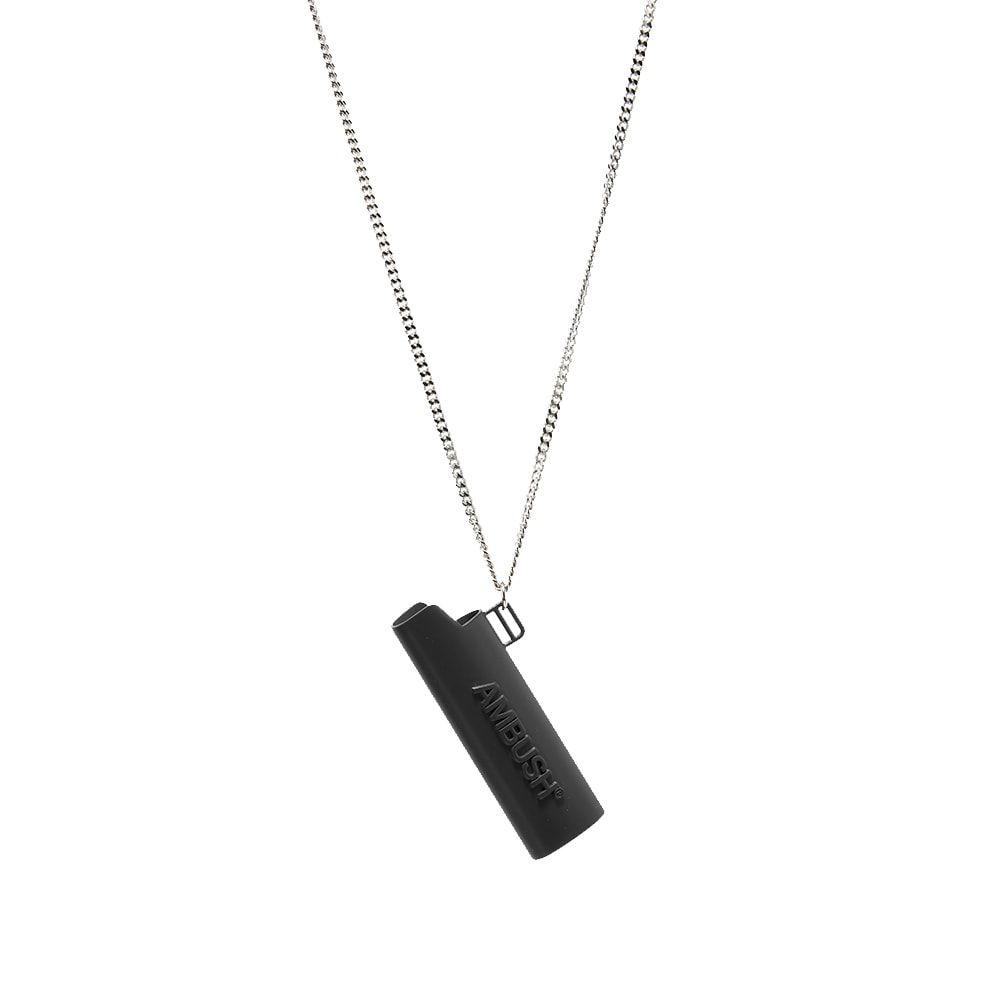 アンブッシュ Ambush メンズ ネックレス ジュエリー・アクセサリー【Logo Lighter Case Necklace】Black