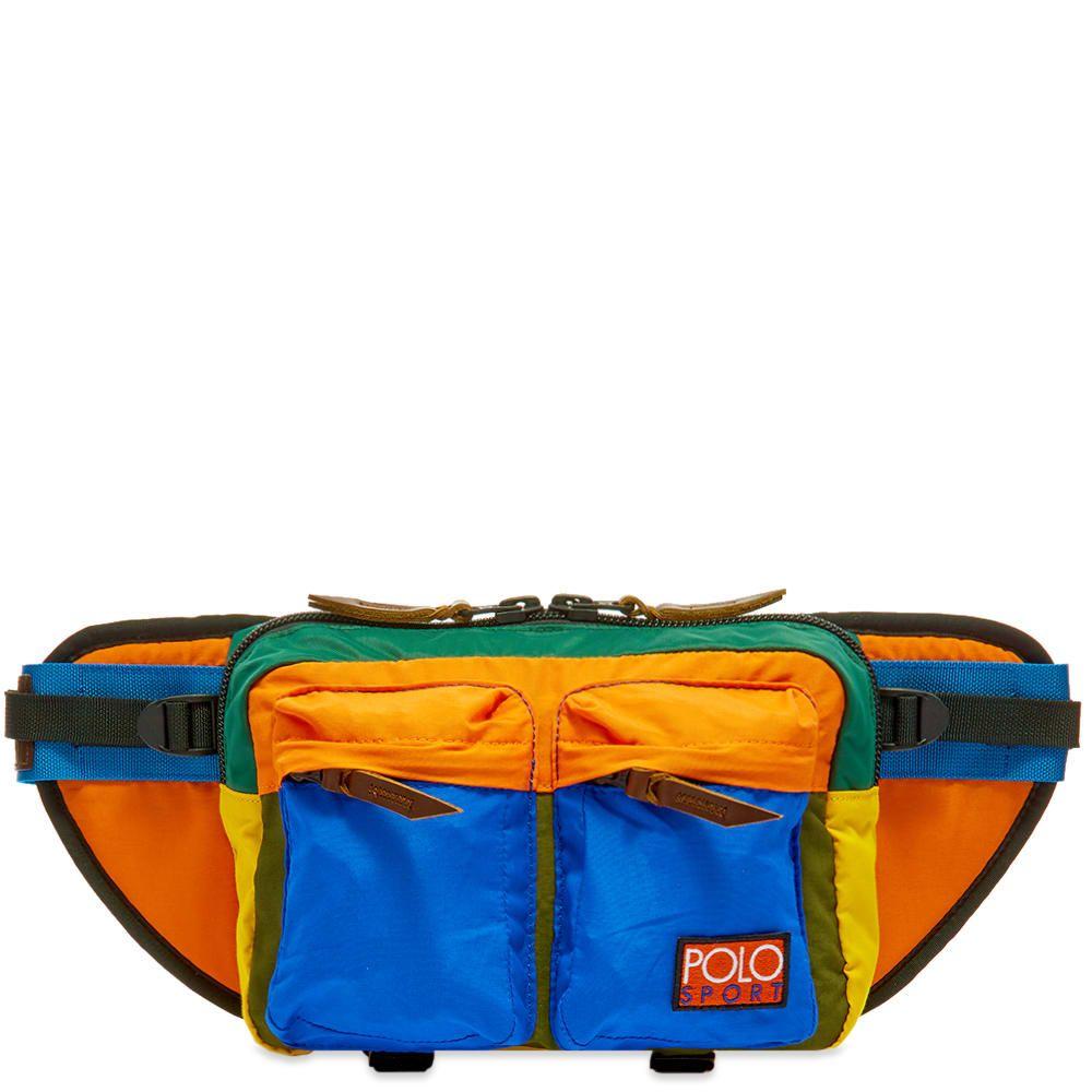 ラルフ ローレン Polo Ralph Lauren メンズ ボディバッグ・ウエストポーチ バッグ【Multipanel Canvas Large Waist Bag】Multi