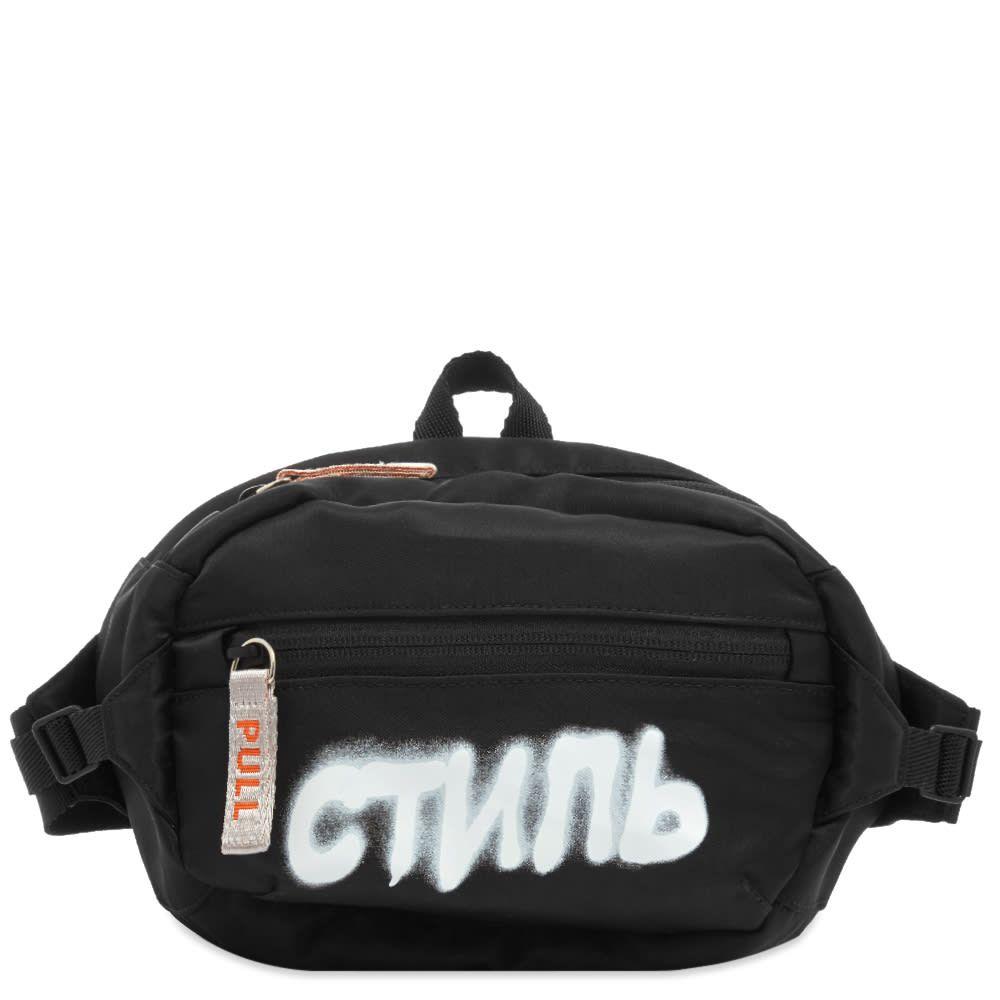 ヘロン プレストン Heron Preston メンズ ボディバッグ・ウエストポーチ バッグ【CTNMB Waist Bag】Black