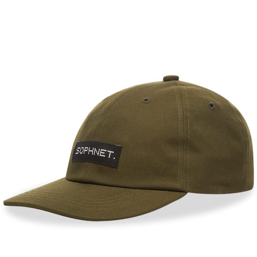 ソフネット SOPHNET. メンズ 帽子 【Cotton Canvas Cap】Khaki