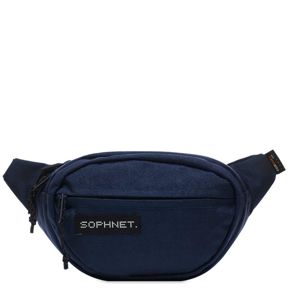 ソフネット SOPHNET. メンズ ボディバッグ・ウエストポーチ バッグ【Waist Bag】Navy