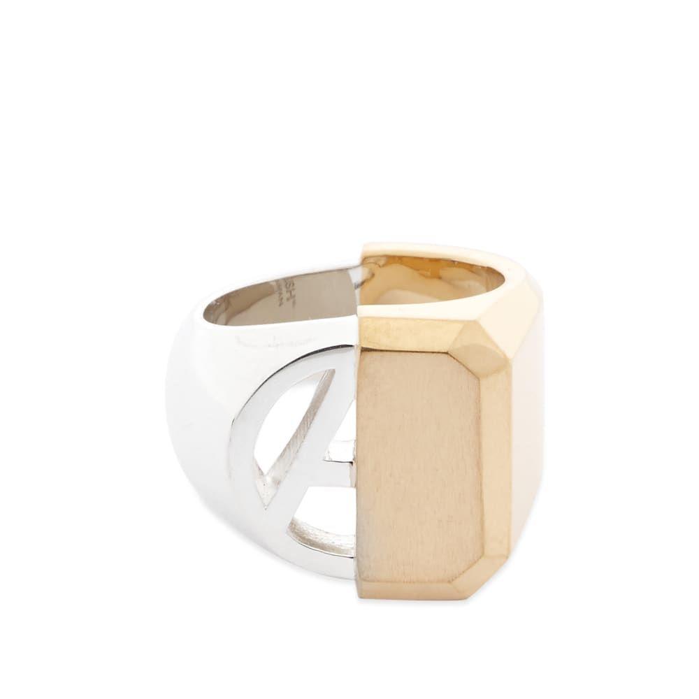 アンブッシュ Ambush メンズ 指輪・リング ジュエリー・アクセサリー【Hues Misfit Ring】Gold/Silver