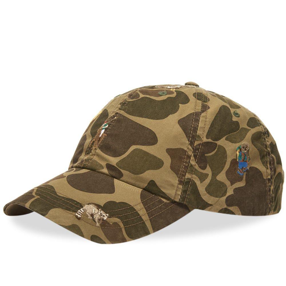 ラルフ ローレン Polo Ralph Lauren メンズ キャップ 帽子【Classic Sport Hat】Frog Skin Camo