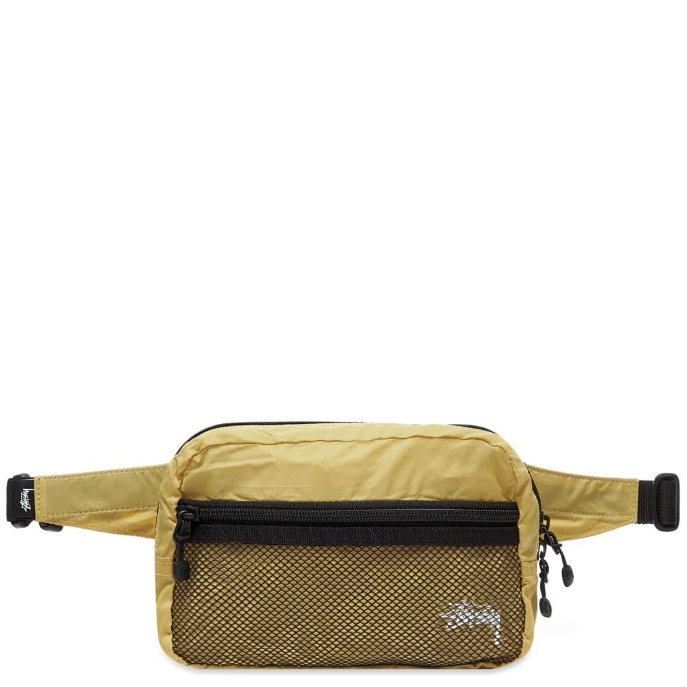 ステューシー Stussy メンズ ボディバッグ・ウエストポーチ バッグ【Light Weight Waist Bag】Gold