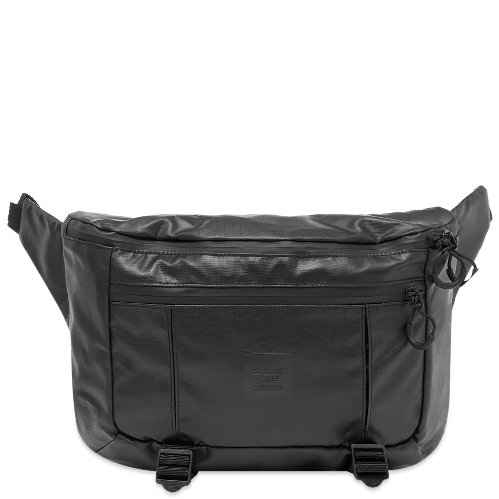 アディダス Adidas メンズ ボディバッグ・ウエストポーチ バッグ【Large Waist Bag】Black