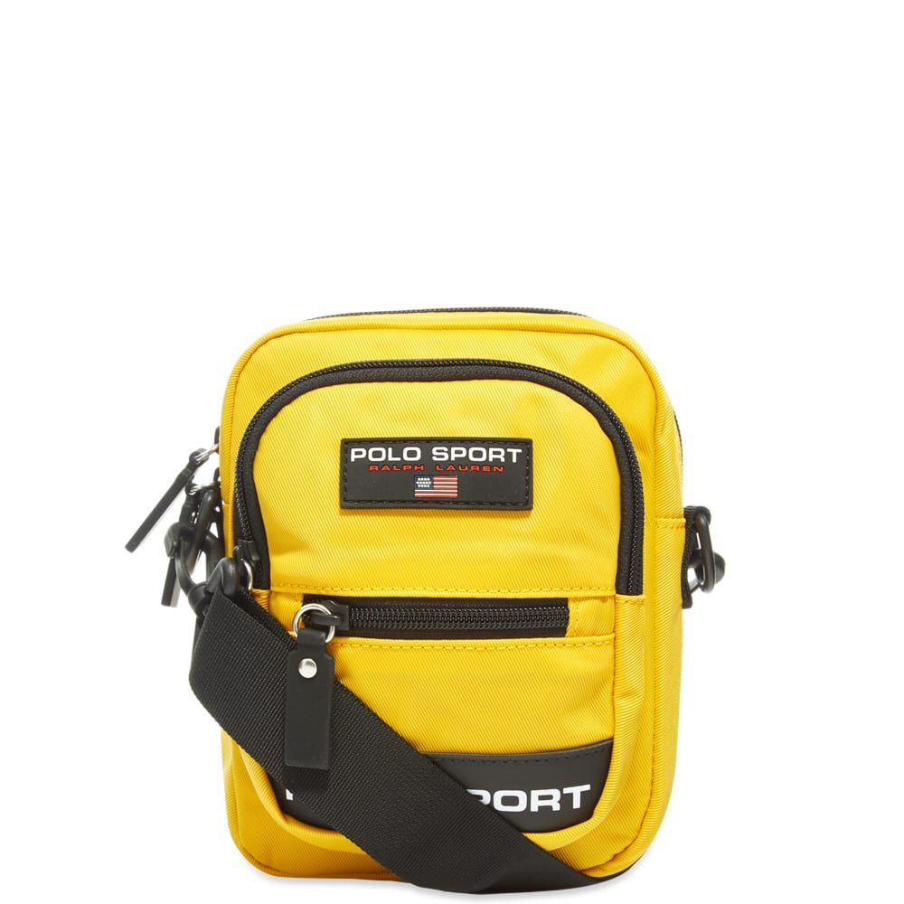 ポロスポーツ Polo Sport メンズ ショルダーバッグ バッグ【Polo Ralph Lauren Cross Body Bag】Yellow
