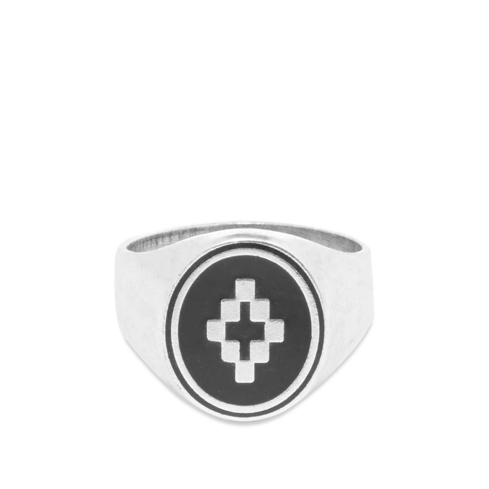 マルセロバーロン Marcelo Burlon メンズ 指輪・リング ジュエリー・アクセサリー【Cross Ring】Silver