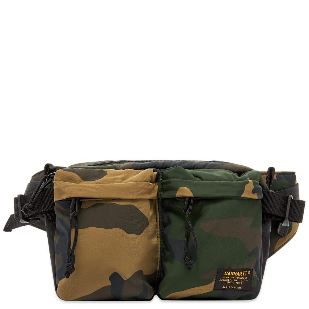 カーハート Carhartt WIP メンズ ボディバッグ・ウエストポーチ バッグ【Military Hip Bag】Camo Laurel/Black