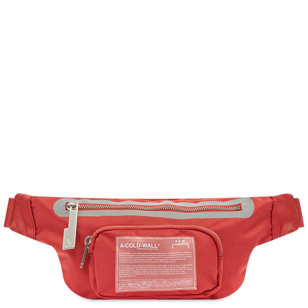 アコールドウォール A-COLD-WALL* メンズ ボディバッグ・ウエストポーチ バッグ【Mission Statement Waist Bag】Red Clay