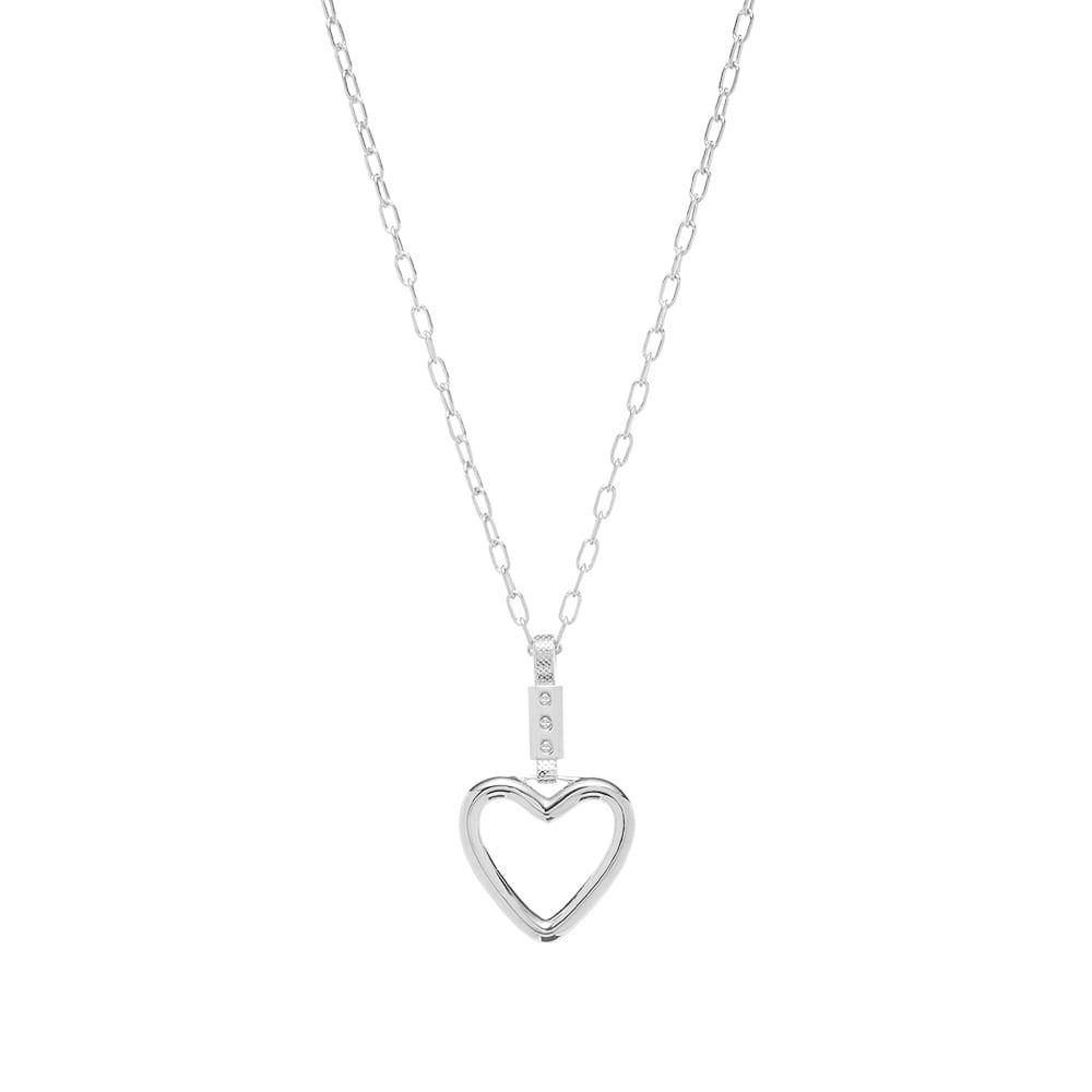アンブッシュ Ambush メンズ ネックレス ハート ジュエリー・アクセサリー【Heart Necklace】Silver