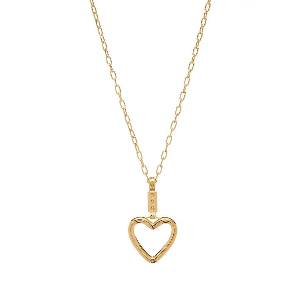 アンブッシュ Ambush メンズ ネックレス ハート ジュエリー・アクセサリー【Heart Necklace】Gold