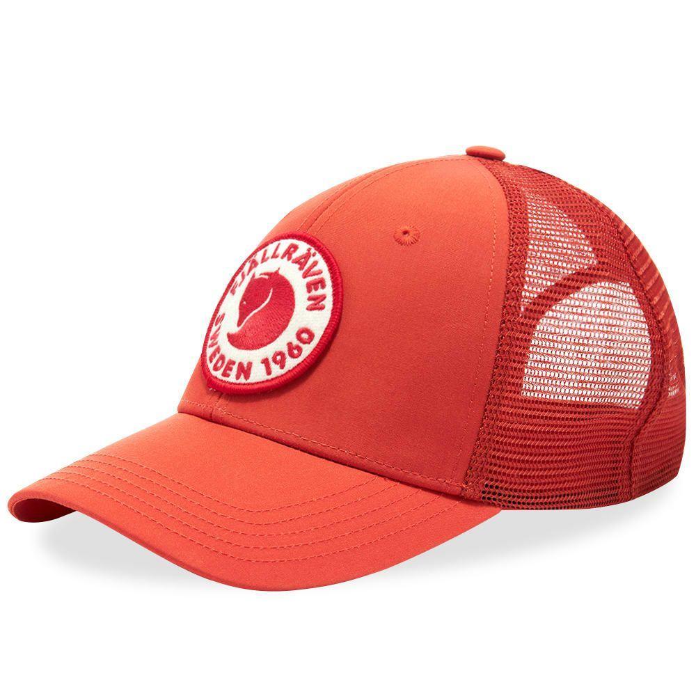 フェールラーベン Fjallraven メンズ キャップ 帽子【1960 Logo Cap】Rowan Red