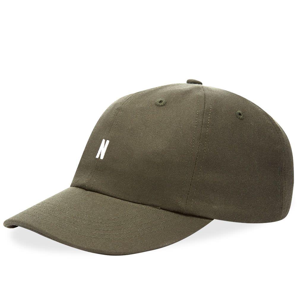 ノースプロジェクト Norse Projects メンズ キャップ 帽子【Twill Sports Cap】Beech Green