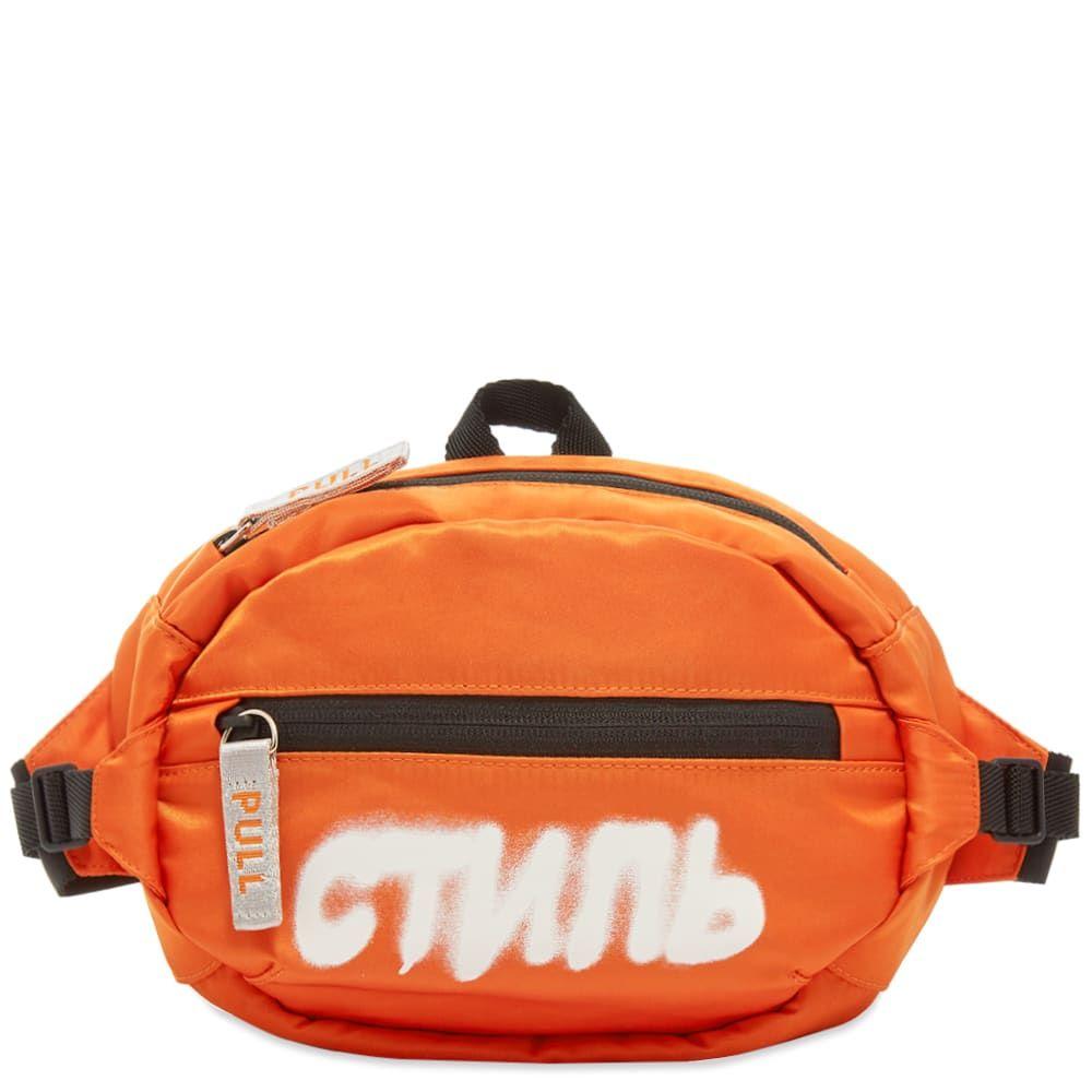 ヘロン プレストン Heron Preston メンズ ボディバッグ・ウエストポーチ バッグ【CTNMB Waist Bag】Orange