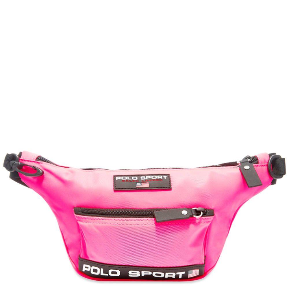 ポロスポーツ Polo Sport メンズ ボディバッグ・ウエストポーチ バッグ【Polo Ralph Lauren Waist Bag】Neon Pink