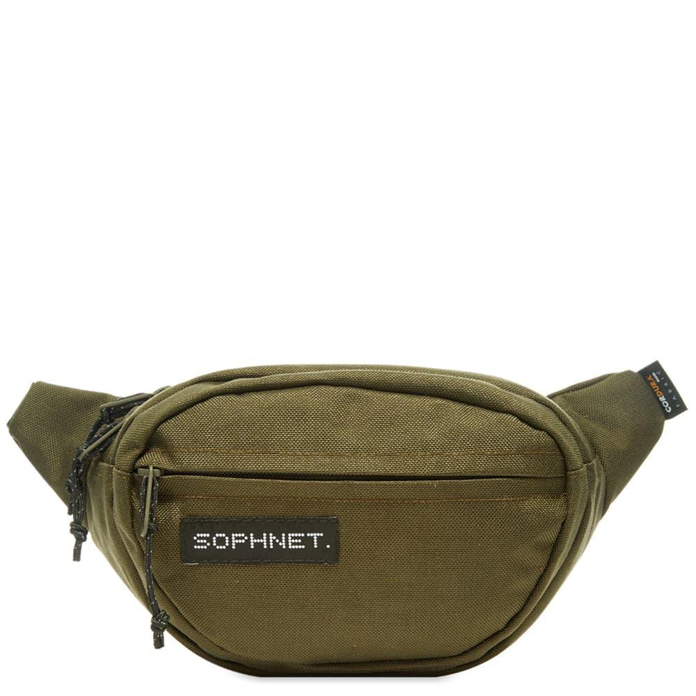 ソフネット SOPHNET. メンズ ボディバッグ・ウエストポーチ バッグ【Waist Bag】Khaki