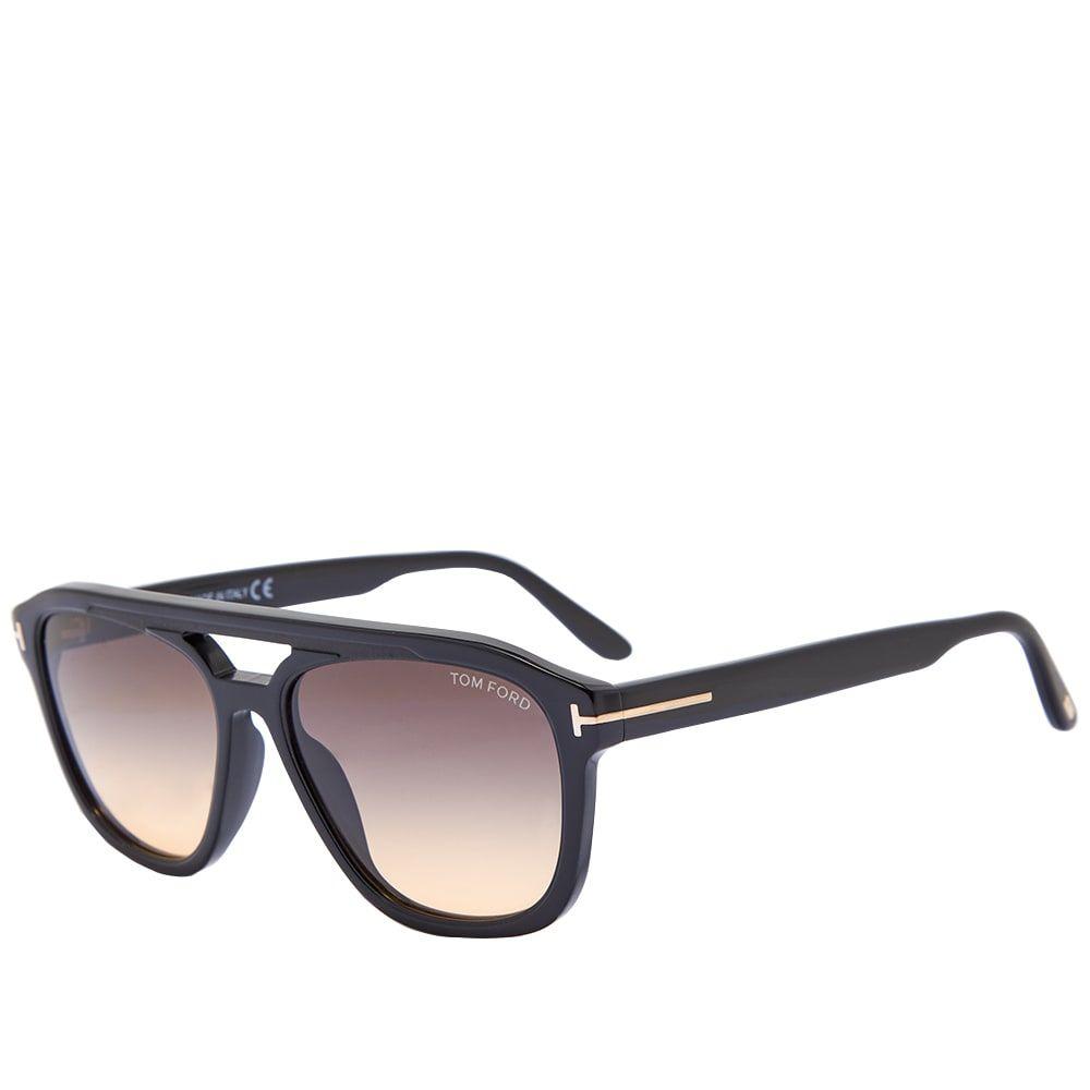トム フォード Tom Ford Eyewear メンズ メガネ・サングラス 【Tom Ford FT0776 Gerrard Sunglasses】Shiny Black/Gradient Smoke