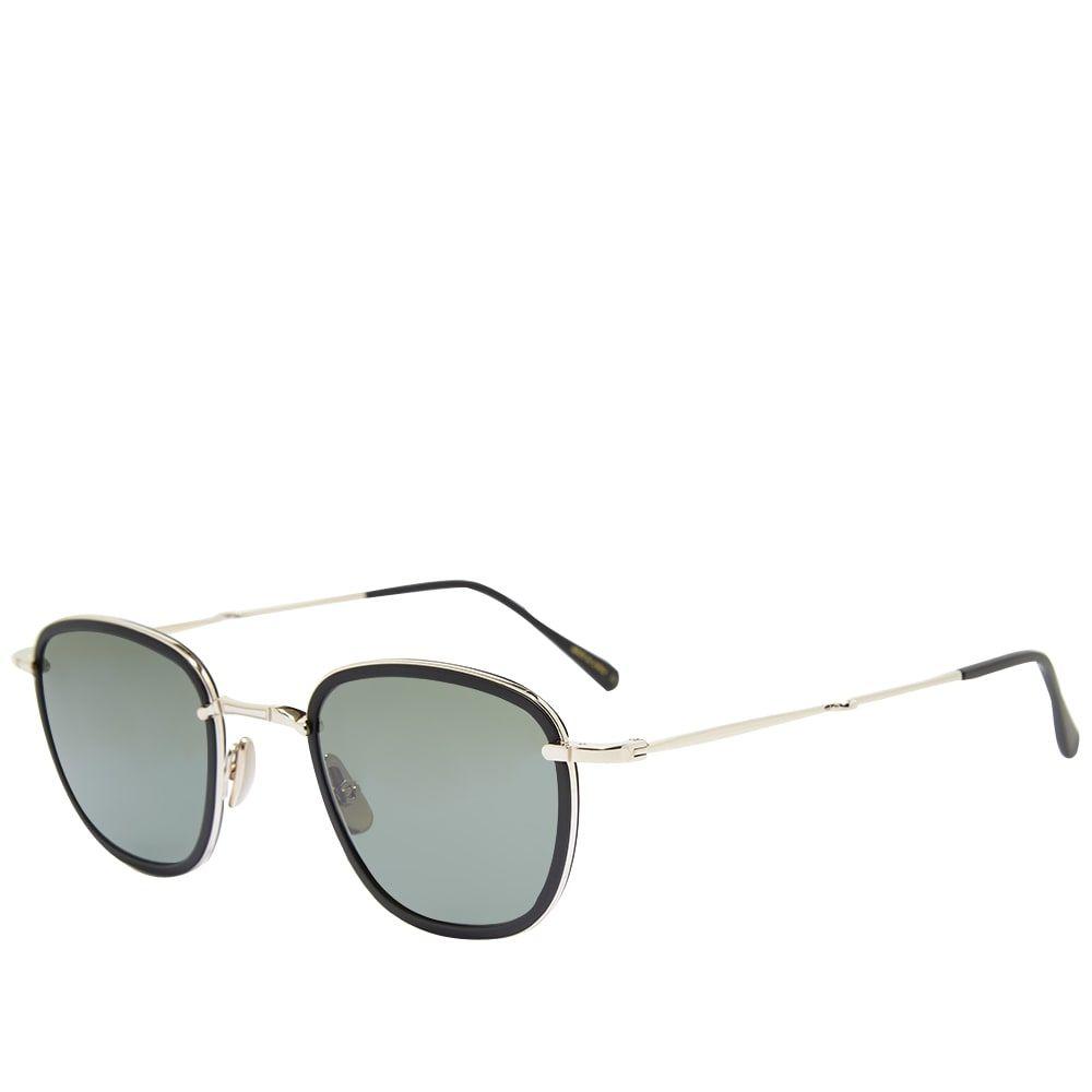 ミスター ライト Mr. Leight メンズ メガネ・サングラス 【Griffith S Sunglasses】Matte Black/12K White Gold