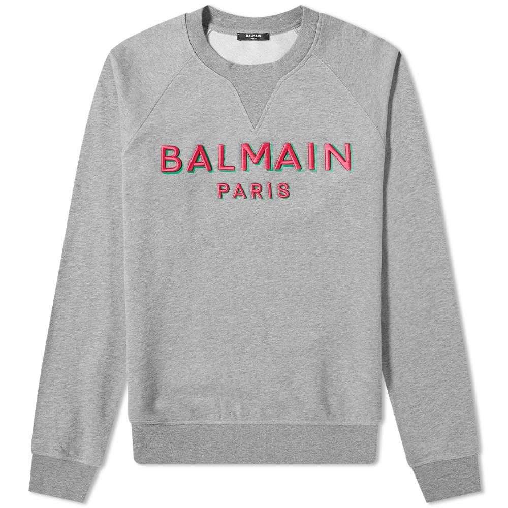 最新発見 バルマン Balmain メンズ スウェット Logo・トレーナー トップス【3D Balmain Paris メンズ Logo Sweat】Grey Marl:フェルマート, ブランドショップ CLASS-A:d1421868 --- nagari.or.id