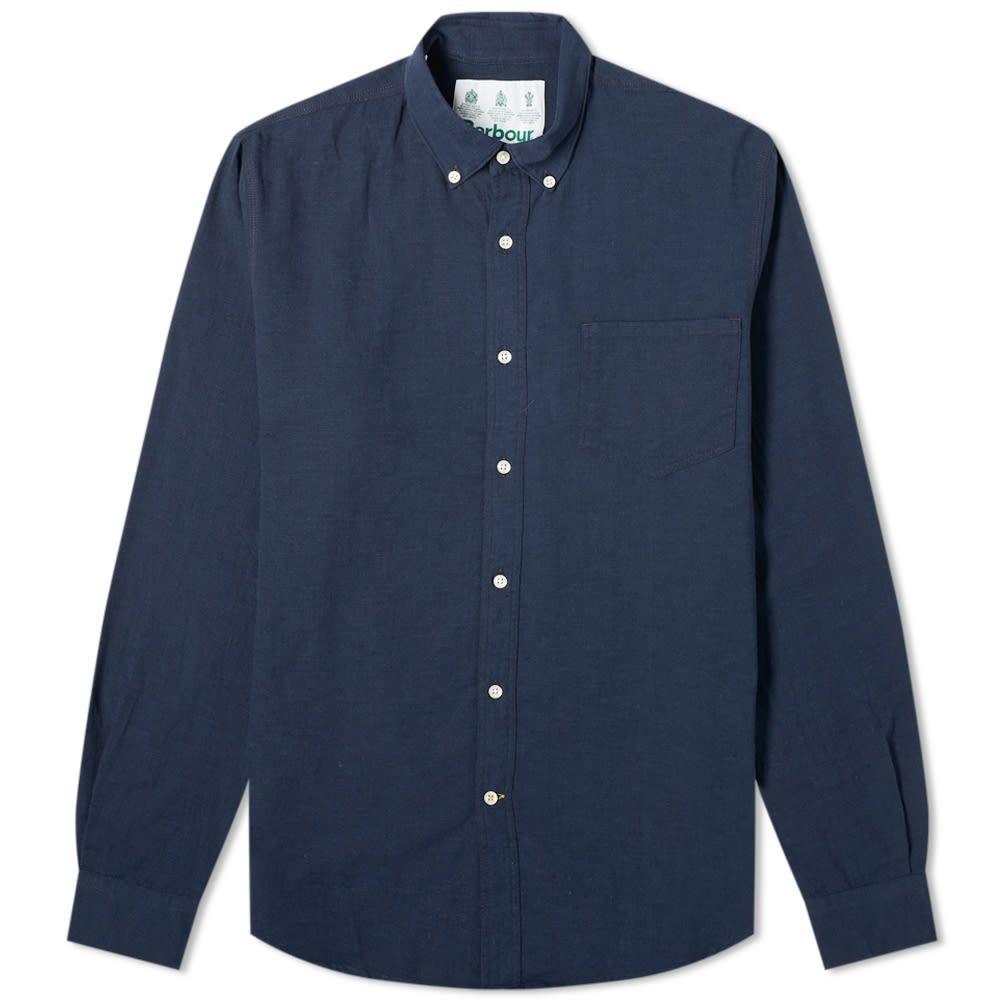 バブアー Barbour メンズ シャツ トップス【Dunbar Shirt - White Label】Navy