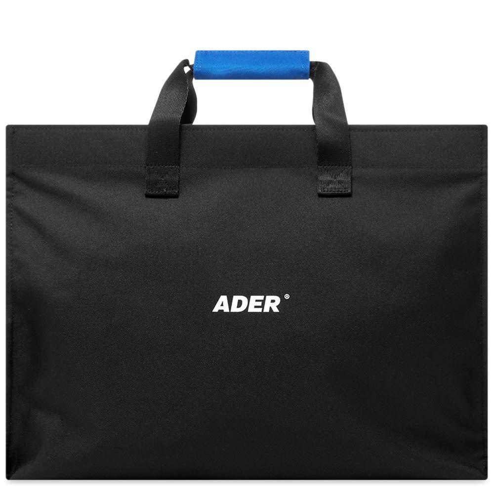 アーダーエラー ADER Error メンズ トートバッグ バッグ【ADER error Logo Shopping Bag】Black