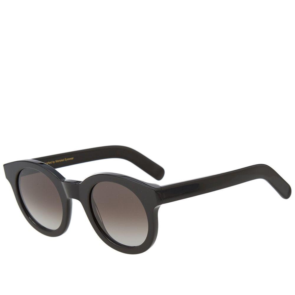 モノケル Monokel メンズ メガネ・サングラス 【Shiro Sunglasses】Black