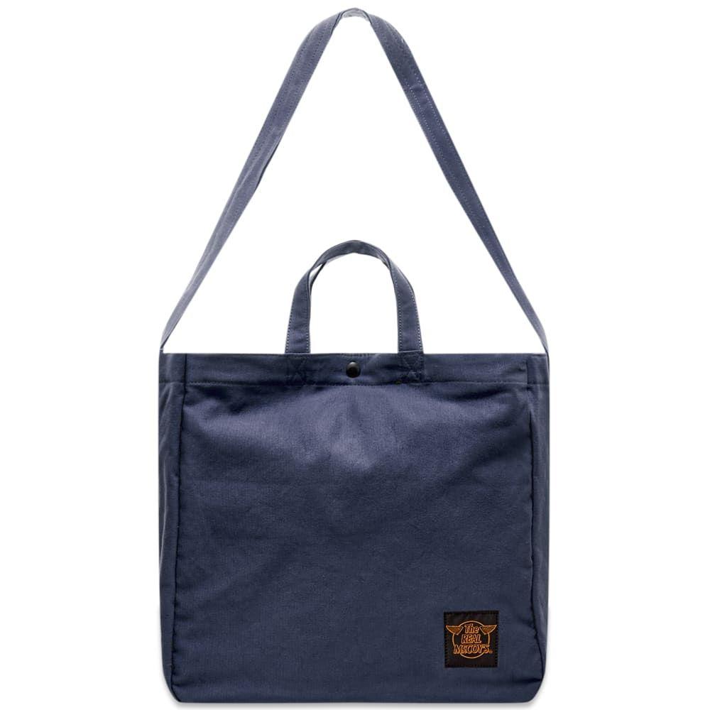 ザ リアル マッコイズ The Real McCoys メンズ ショルダーバッグ バッグ【The Real McCoy's Eco Shoulder Bag】Navy