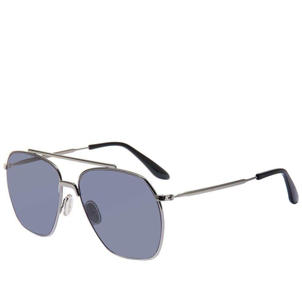 アクネ ストゥディオズ Acne Studios メンズ メガネ・サングラス 【Anteom Sunglasses】Dark Silver/Black