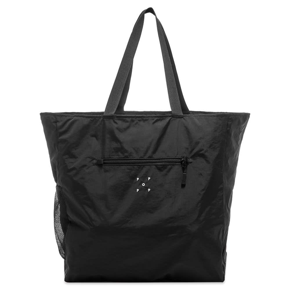 ポップトレーディングカンパニー Pop Trading Company メンズ トートバッグ バッグ【Logo Tote】Black