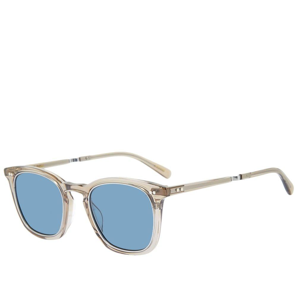 ミスター ライト Mr. Leight メンズ メガネ・サングラス 【Getty S Sunglasses】Grey Crystal/Matte Platinum