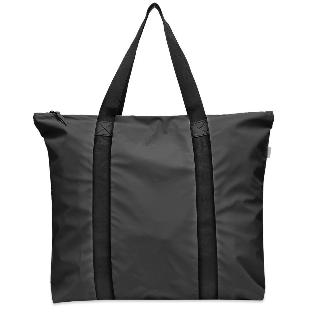 レインズ Rains メンズ トートバッグ バッグ【Tote Bag】Black