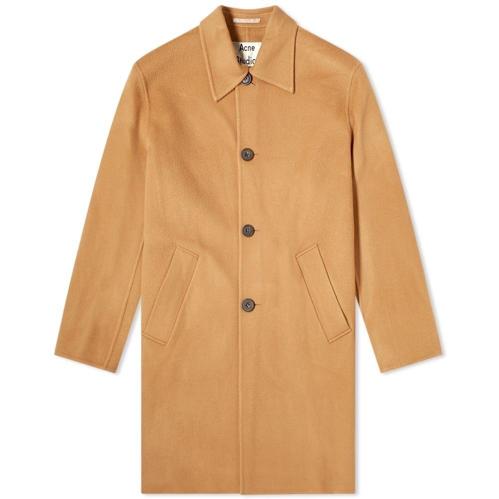 アクネ ストゥディオズ Acne Studios メンズ コート アウター【New Marilia Coat】Camel Brown