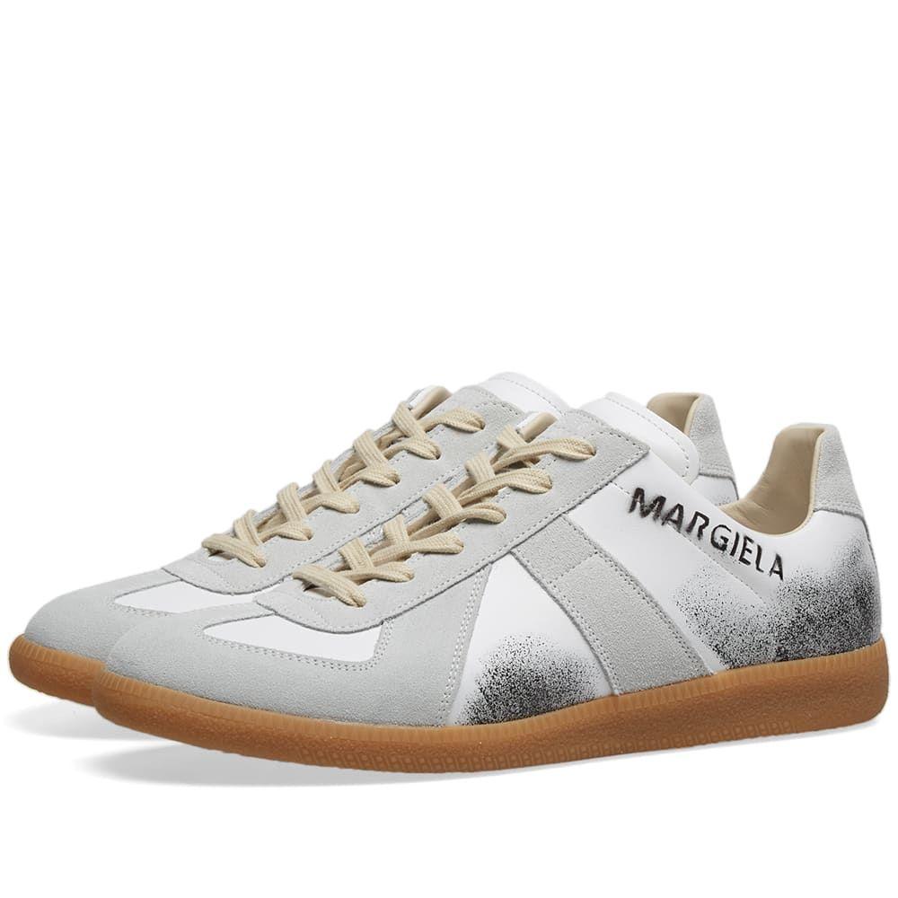 メゾン マルジェラ Maison Margiela メンズ スニーカー シューズ・靴【22 Replica Graffiti Sneaker】White