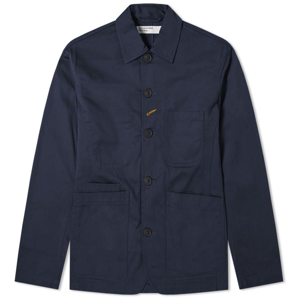 ユニバーサルワークス Universal Works メンズ ジャケット アウター【Bakers Jacket】Navy