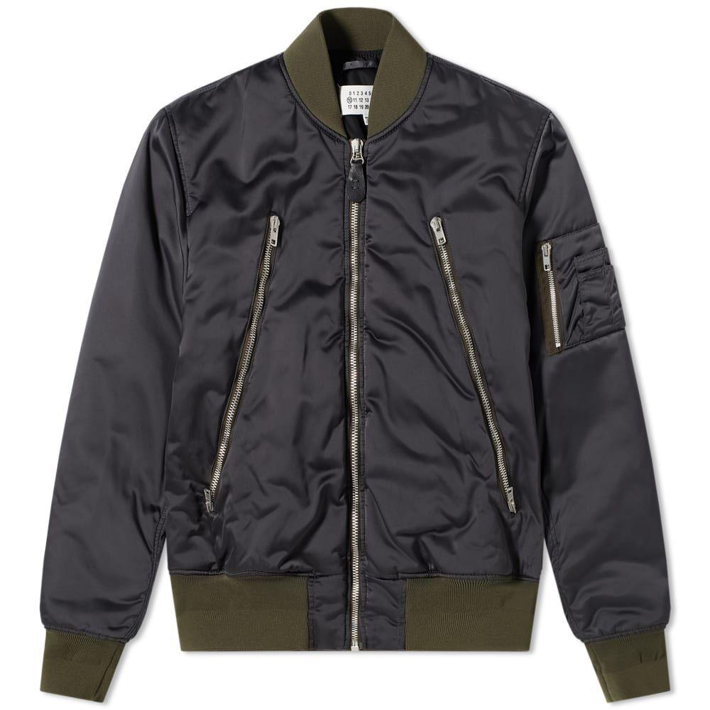 メゾン マルジェラ Maison Margiela メンズ ブルゾン ミリタリージャケット アウター【10 Front Bomber Jacket】Anhracite Melange