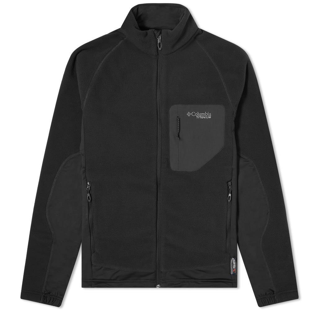 コロンビア Columbia メンズ フリース トップス【Titan Pass 2 Fleece】Black
