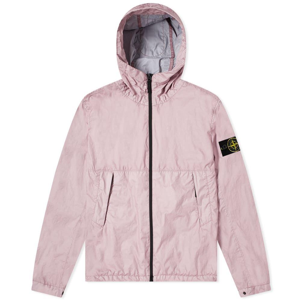ストーンアイランド Stone Island メンズ ジャケット フード アウター【Membrana 3L TC Hooded Jacket】Rose Quartz