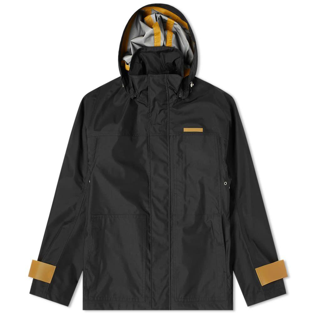 ヘルムート ラング Helmut Lang メンズ ジャケット フード アウター【Tech Zip Through Hooded Jacket】Black