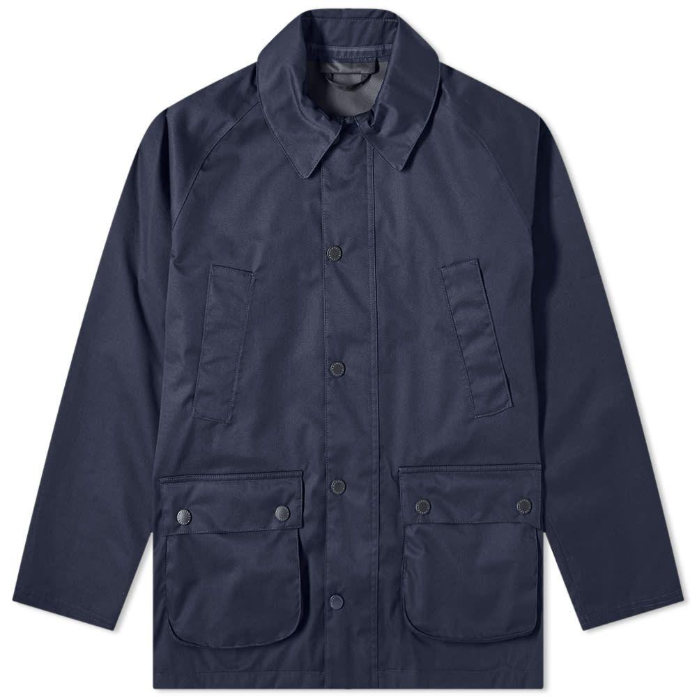バブアー Barbour メンズ ジャケット アウター【Waterproof Bedale Jacket - White Label】Navy