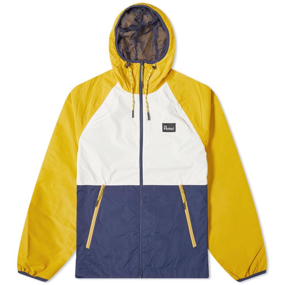 ペンフィールド メンズ アウター ジャケット Mineral おトク 引出物 Yellow Colourblock Echora Jacket Penfield サイズ交換無料