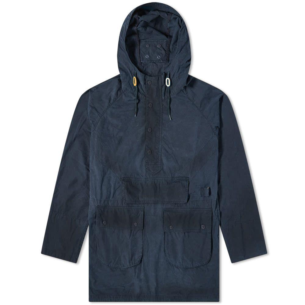 バブアー Barbour メンズ ジャケット アウター【x Engineered Garments Washed Warby Casual Jacket】Navy