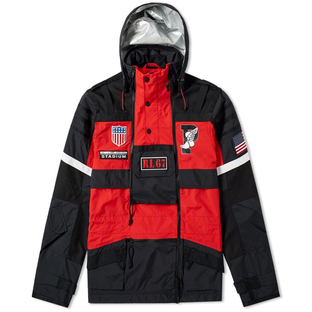 ラルフ ローレン Polo Ralph Lauren メンズ ジャケット アウター【Apollo Jacket】Injection Red/Polo Black